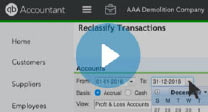 Reclassify Transactions