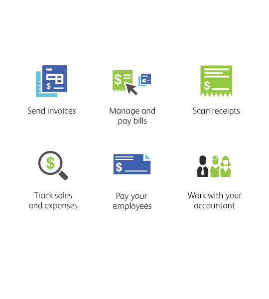 Collaborative, intuitive. Introducing the all new QuickBooks