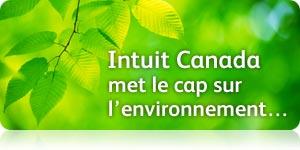 Intuit Canada met le cap sur l'environnement…