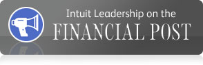 Listen: Intuit Leadership on the Financial Post