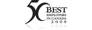 En Anglais Seulement: 50 Best Employers Canada - 2008