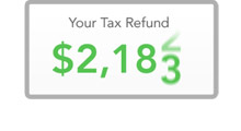 Choose TurboTax - Refund Display