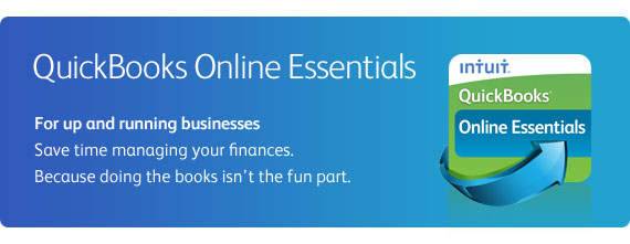 Online invoicing from QuickBooks Online Essentials - for up and running businesses