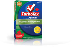 TurboTax Business Incorporated 2010/2011