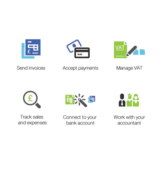 Accept payments, work with your accountant and do your invoicing, bookkeeping, and billing. All with QuickBooks