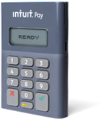 Intuit Pay chip and pin machine