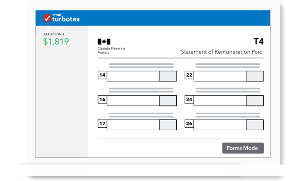Tax Forms for 2018: Canadian Income Tax Return Forms