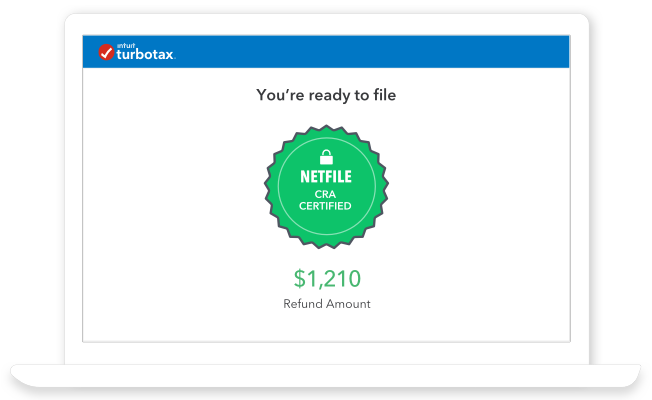 NETFILE CRA certified. You're ready to file.