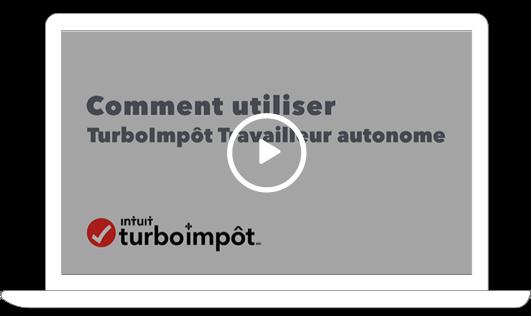 Comment utiliser TurboImpôt Travailleur autonome