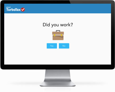 TurboTax software screen graphic