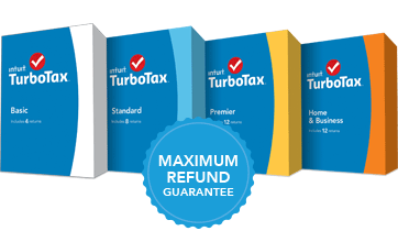 TurboTax Advantage is available for TurboTax Basic, Standard, Premier, Home & Business, Suite and TurboTax 20