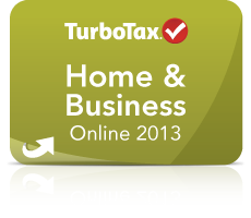 TurboTax Home & Business Online 2013