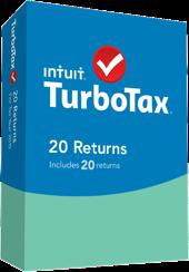 TurboTax 20 Returns