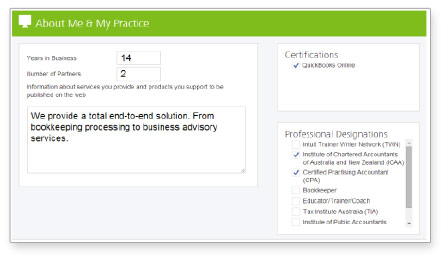 Step 2 - Hit Publish and you're listed!
