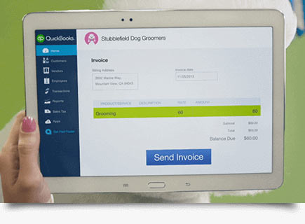 Seriously Easy Accounting Software Intuit QuickBooks Online - Instant invoice